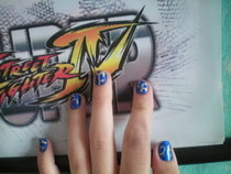 (Not So Good) Chun Li Nails