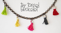 Tiny Tassel Bracelet