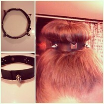 Diy Leather Bun Cuff