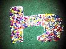 Crayon Letter Decor