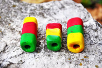 Rasta Dread Beads