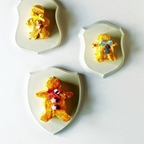 Gingerbread Marshmallows With Almond Praline