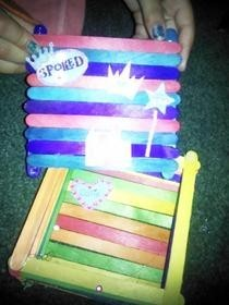 Popsicle Stick Time Capsules!