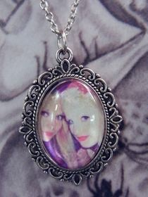 Friendship Cameo Necklace