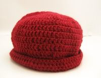 How to make a floral beanie. Double Crochet Beanie Tutorial For Beginners - Step 20