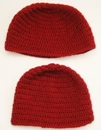 How to make a beanie. Double Crochet Beanie Tutorial For Beginners - Step 21