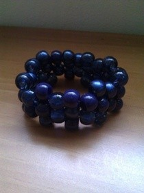  Beaded Cuff  Bracelet 