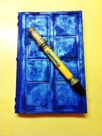 River Song's Diary And 10's Sonic Screwdriver Pen