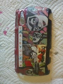 Harley Quinn Comic Cell Phone Cover
