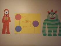 Yo Gabba Gabba Wall Decorations
