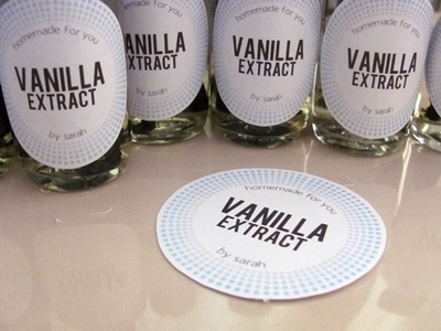 How to make an extract. Homemade Vanilla Extract - Step 10