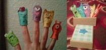 Monster/Alien Finger Puppets