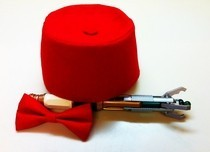 11th Doctor's Fez And Bow Tie