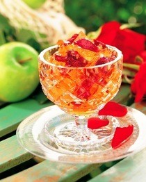 Apple And Rose Jelly