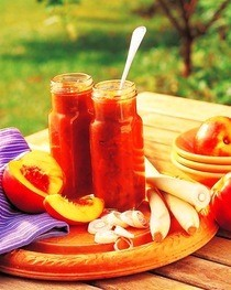 Nectarine And Lemongrass Chutney