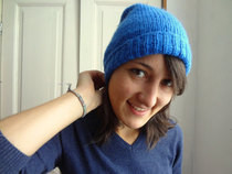 Calorimetry Royal Blue Slouch Hat