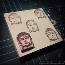 Hotei / Budai (Laughing Buddha) Stamp
