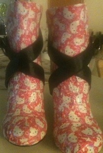 Diy Hello Kitty Wedge Shoes