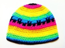Rainbow Beanie