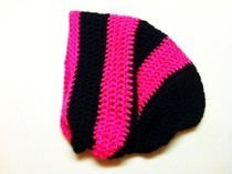 Hot Pink Slouchy Hat
