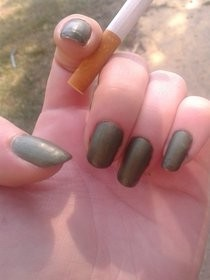 Make Your Own Matte Nail Polish