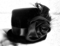Upcycled Miniature Gothic Tophat