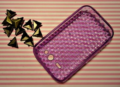 How to make a phone case. Stud Cell Phone Case - Step 1