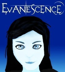 Evanescence Amy Lee Portrait