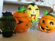 Halloween Jelly Filled Fruits