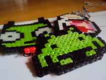 My Perler Sprites 