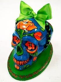 Frida Day Of The Dead Skull