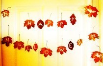 Rustic Halloween Bunting