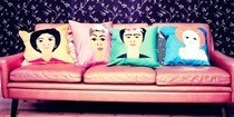 Squashy Sisters Cushions