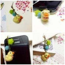 Ducky Plugy With Chain