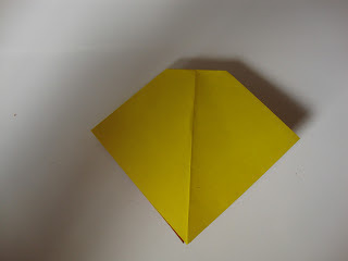 How to fold an origami shape. Origami Bows - Step 13
