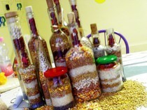 Decorative Grain Bottles