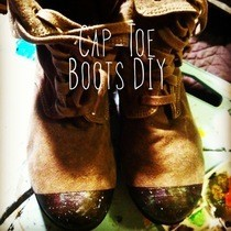 Diy Cap Toe Boots