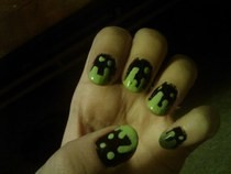 Goosebumps Inspired Nails!