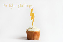 Mini Lighting Bolt Topper
