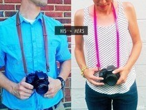 His + Hers Belted Camera Strap