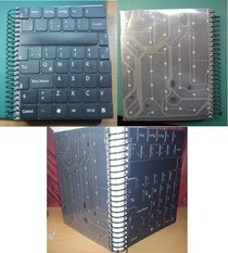 Recicle Keyboard Keys And Get A Totally New Notebook