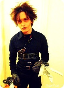 Halloween Week Nr. 1: Tim Ward Scissorhands