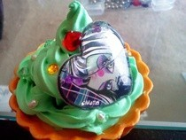 Monster High Frankie Deco Cupcake