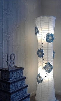 Upcycled Paperlamp