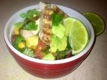 Mexican Grilled Pork Salad