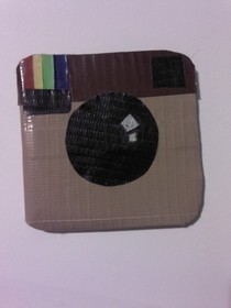 Duct Tape Instagram Wallet