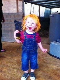 Chucky Kids Costume 