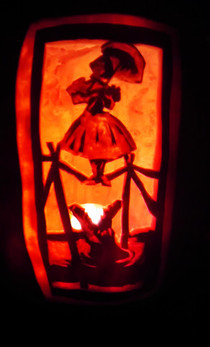Haunted Mansion Pumpkin