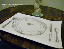 Place Setting Place Mat