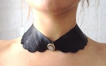 Leather Victorian Collar